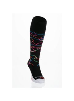 Brabo Socks Swearl Black