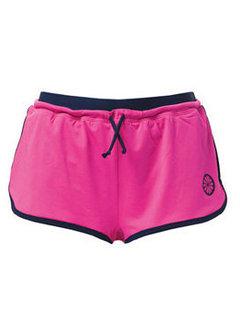 Indian Maharadja Shorts Ladies Roze/Blauw