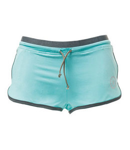 Indian Maharadja Shorts Ladies Aqua/Grau