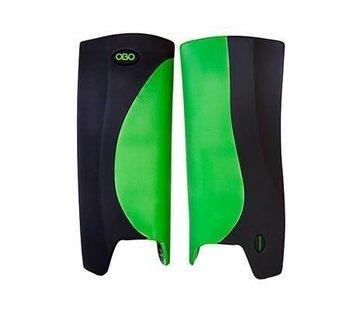 Obo ROBO Hi-Rebound Legguards Groen/Zwart