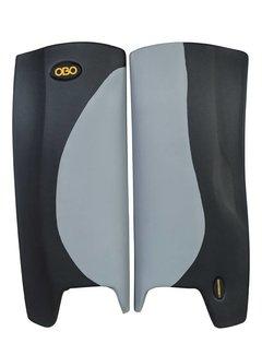 Obo ROBO Hi-Rebound Legguards Grey/Black