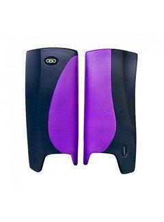 Obo ROBO Hi-Rebound Legguards Violet/Schwarz