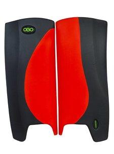 Obo Hi-Rebound Legguards Red/Black