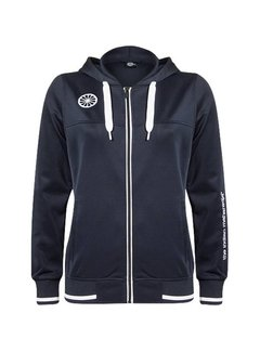 Indian Maharadja Women's tech hooded Navy