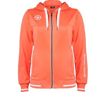 Indian Maharadja Women's tech hooded Coral