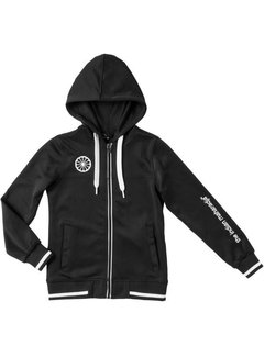 Indian Maharadja Kids tech hooded Black