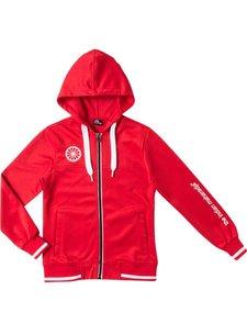 Indian Maharadja Kids tech hooded Red
