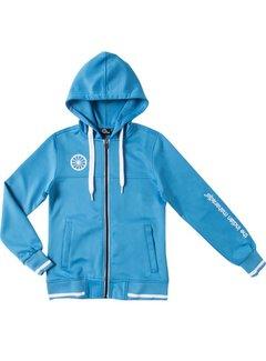 Indian Maharadja Kids tech hooded Blauw