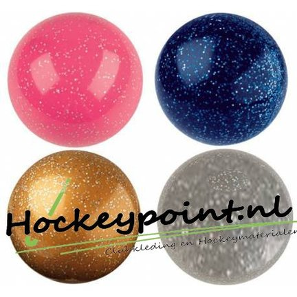 Glitter hockeyballen en fun hockeyballen