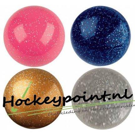 Glitter hockeyballs and fun hockeyballs