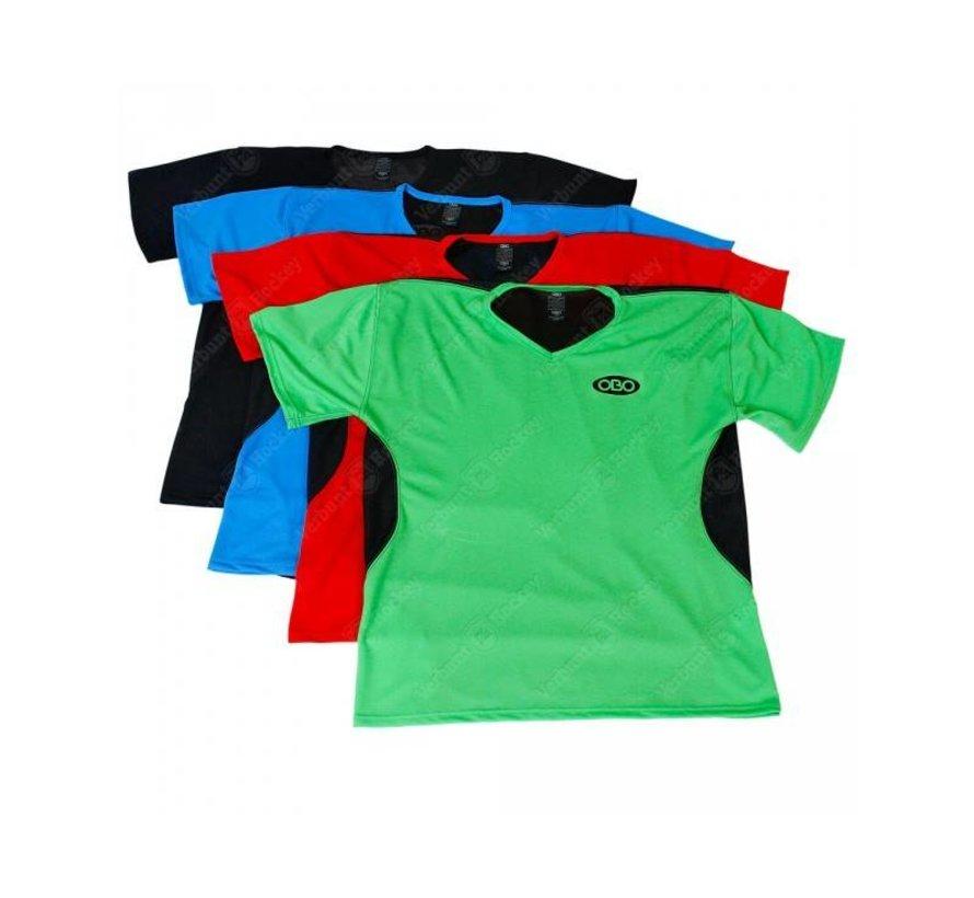 Goalieshirt Short Sleeve Groen/Zwart