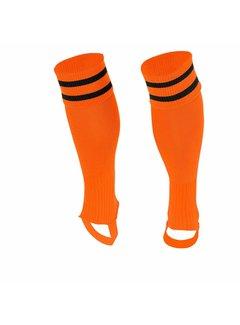 Stanno Sok zonder voet ( Ring footless sock ) Oranje/Zwart