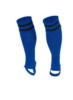 Stanno Sok zonder voet ( Ring footless sock ) Blauw/Zwart