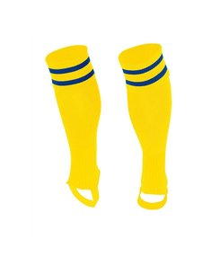 Stanno Sok zonder voet ( Ring footless sock ) Geel/Blauw