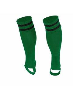 Stanno Sok zonder voet ( Ring footless sock ) Groen/Zwart