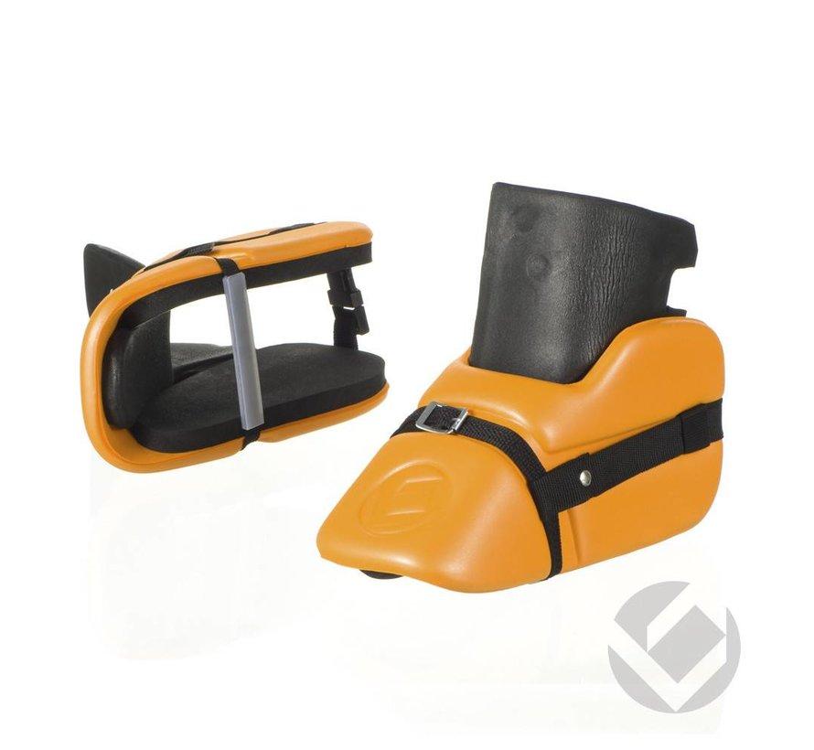 Mini Set Legguards en Kickers Oranje