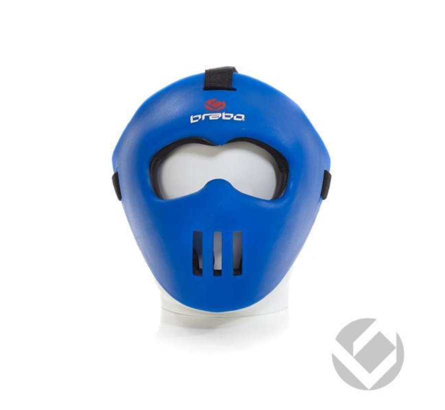 Facemask Blauw all-fit