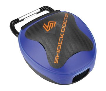 Shock doctor Mouthguard Case Blauw