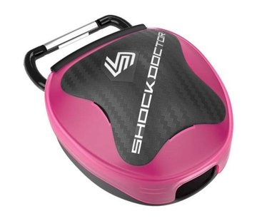Shock doctor Mouthguard Case Roze