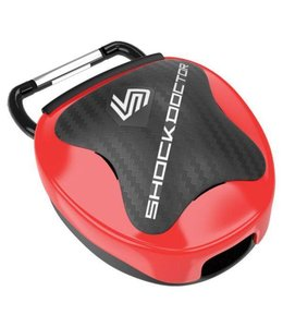 Shock doctor Mouthguard Case Rood