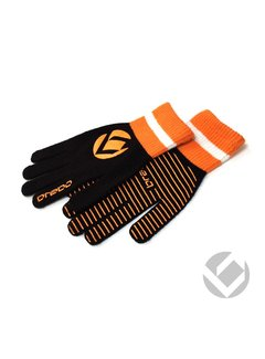 Brabo Winter Glove Schwarz/Orange