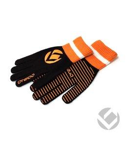 Brabo Winter Glove Zwart/Oranje