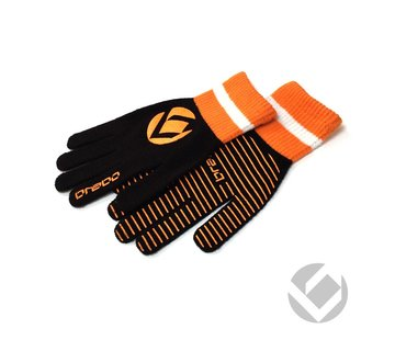Brabo Winter Glove Zwart/Oranje