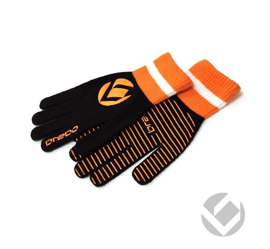 Winter handschoen Zwart/Oranje