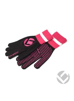 Brabo Winter handschoen Zwart/Roze
