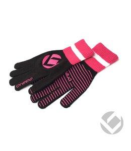 Brabo Winter Glove Schwarz/Pink