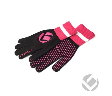 Brabo Winter Glove Zwart/Roze