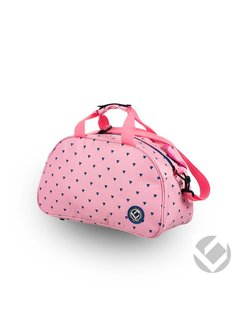 Brabo Shoulderbag Triangles Pink / Navy