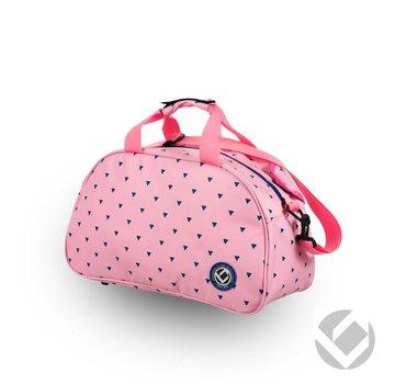 Brabo Shoulderbag Triangles Pink / Navy