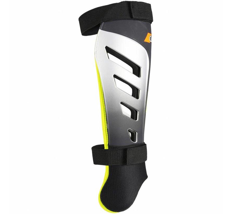 G800 Scheenbeschermer zwart / neon geel