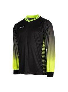 Reece Luke Torwart Shirt Schwarz/Neon Gelb
