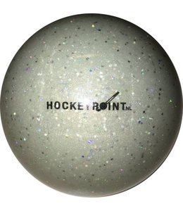 Hockeyball glitzer Grau