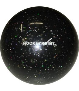 Hockeybal Glitter Zwart