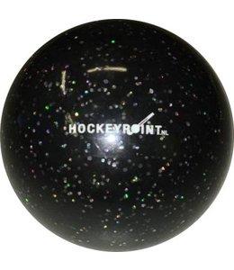 Hockeyball Glitzer Schwarz