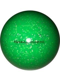 Hockeypoint Hockeybal Glitter Fluo Groen