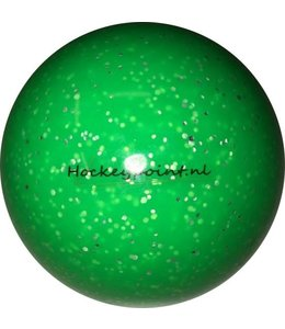 Hockeybal Glitter Fluo Groen