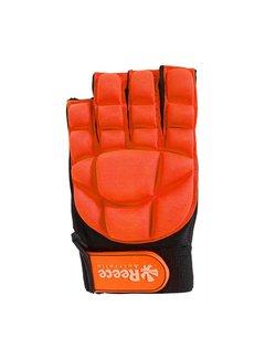 Reece Comfort Half Finger Glove Oranje