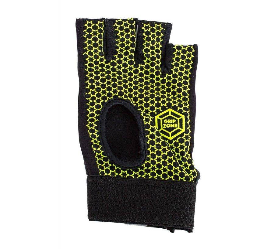 Comfort Half Finger Glove Zwart
