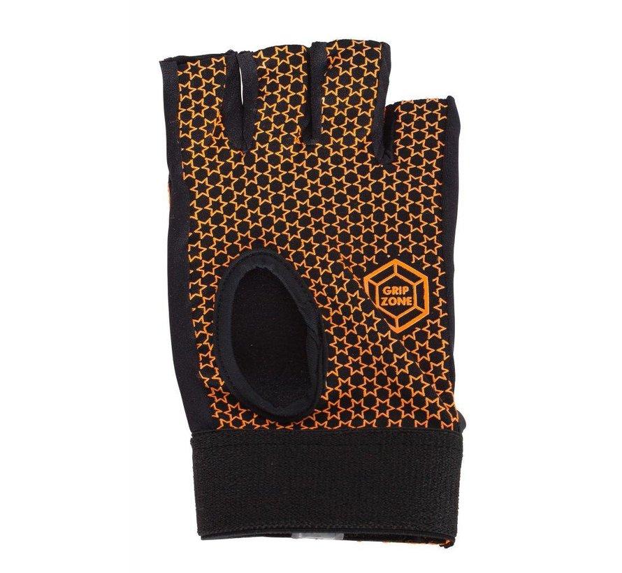 Comfort Half Finger Glove Oranje