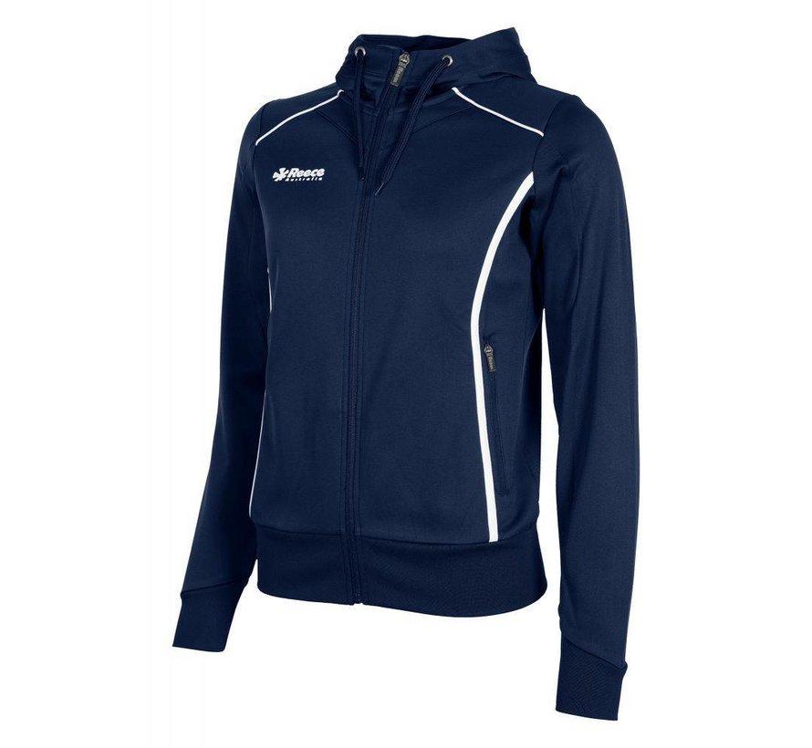 Core TTS Hooded Sweat Full Zip Ladies Navy