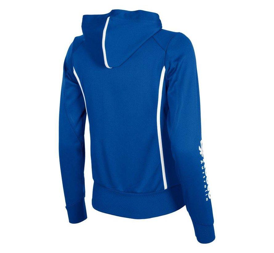Core TTS Hooded Sweat Full Zip Ladies Royal