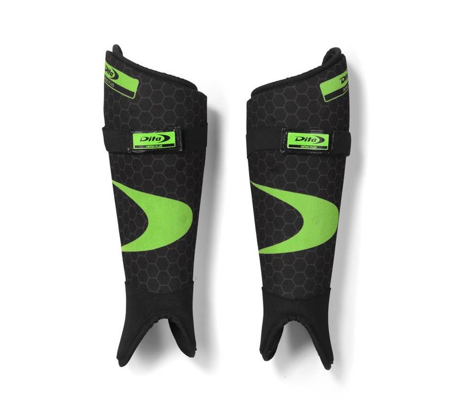 Shinguard Ortho Plus Fluo Groen/Zwart