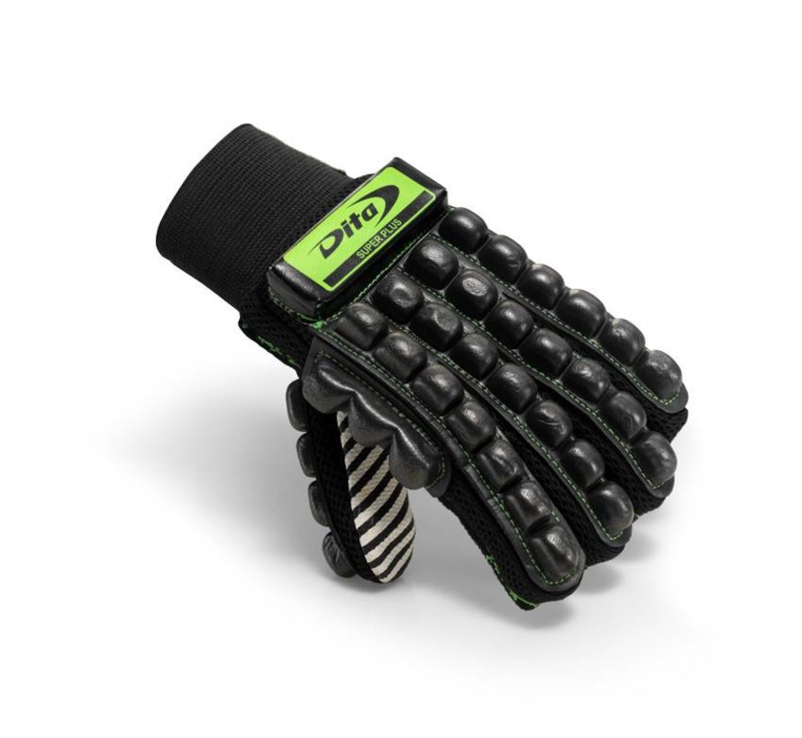 Glove Super Plus Fluo Groen/Zwart