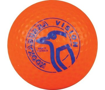 Kookaburra Dimple Vision Orange Hockeyball