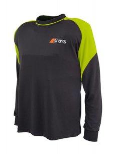 Grays GK Shirt Nitro Black/Neon Yellow L/S