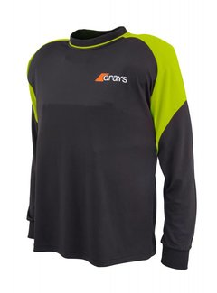 Grays GK Shirt Nitro Zwart/Neon Geel L/S